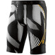 Skins DNAmic Hardloop Shorts Heren wit/zwart